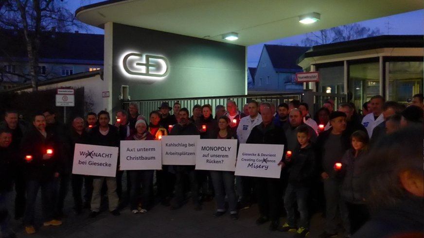Protestaktion G& 23.12.2014
