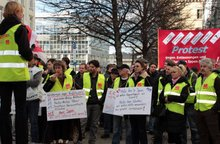 Protestaktion Ippen 20.2.2014